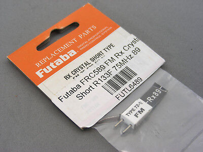 Used, Vintage Futaba Spare Replacement 75MHz FM Ch89 75.970 Receiver Rx Crystal NEW OS for sale  Shipping to India