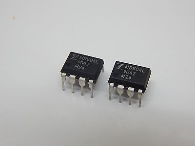Mb504l Modulus Prescaler 8 Pin Dip Ic -you Get 2 Pieces Usa Seller Fast Shipping