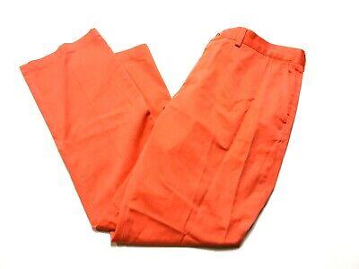 Polo Ralph Lauren Mens Orange Casual Pants Size 38/32 Classic Fit