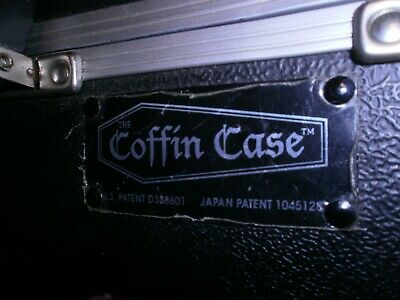 Coffin Hard Shell Case for Guitar or Bass in Near Mint Condition inside and Out