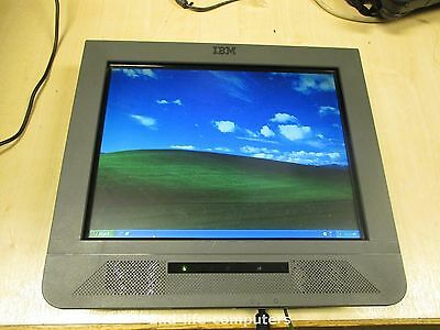 """IBM Anyplace 15"""" TOUCHSCREEN POS MONITOR XP PRO 40GB Cel 1,3GHz 1GB RAM 4838-W5D"""