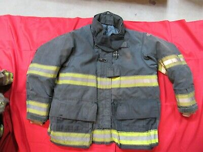 Mfg 2010 Globe Drd Gxtreme 50 X 32 Firefighter Turnout Bunker Jacket Fire Fdny