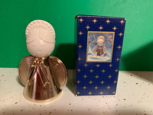 Vintage  AVON GOLDEN ANGEL  Sweet Honesty Cologne Glass Bottle 1 oz full