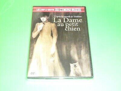 DVD  LA DAME AU PETIT CHIEN    TCHEKHOV    cinéma russe   neuf SOUS CELLO