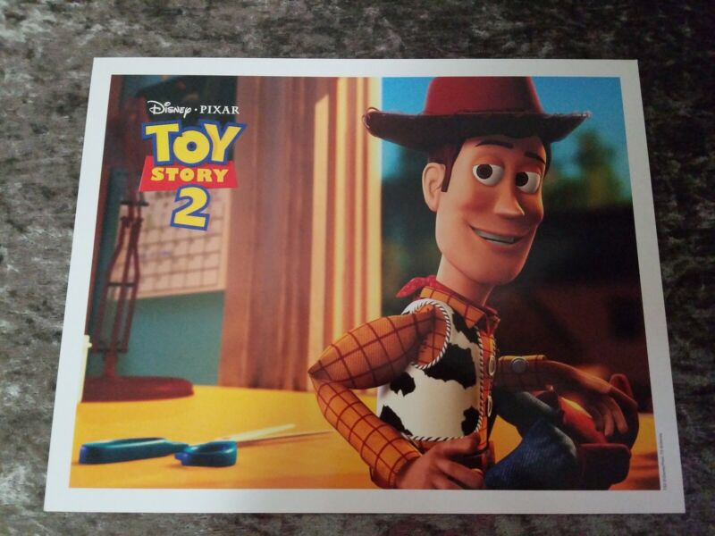 Toy Story 2 lobby cards - Disney/Pixar - Original Set of 11 Cards