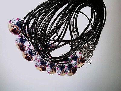 Puppy Pals   -8 Charm Necklaces -Party Favor Birthday Prizes bracelets Vampire](Vampire Puppy)