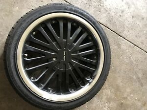 18 INCH FALKEN RIMS WITH TIRES