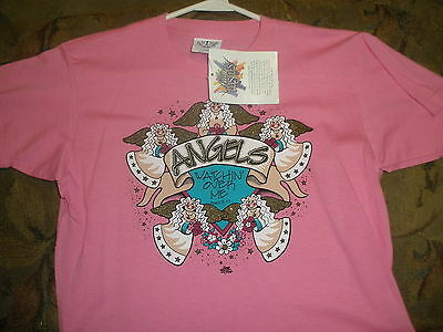 NEW Angels Watch Over Me t-shirt youth large