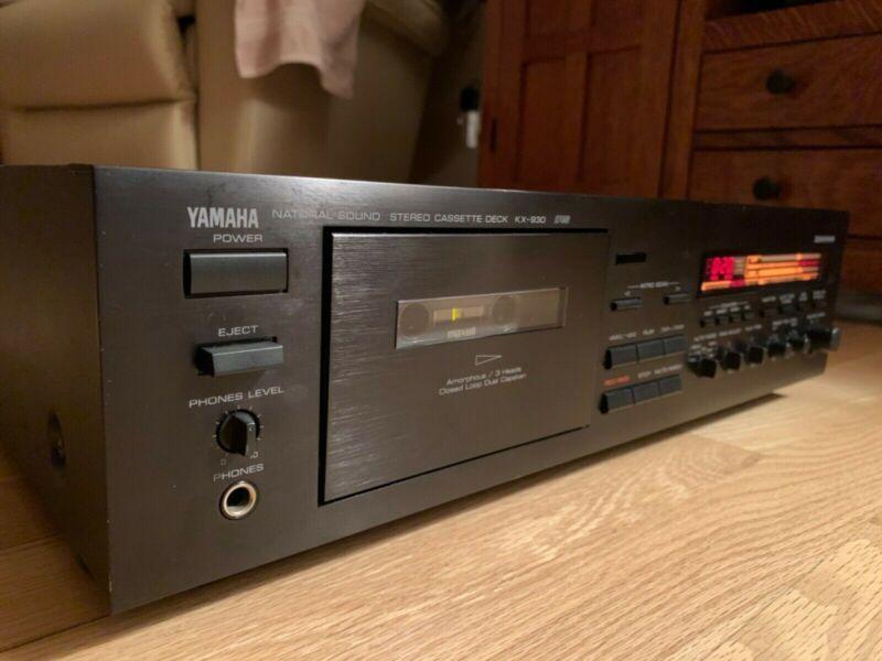 Yamaha KX-930 Cassette Deck