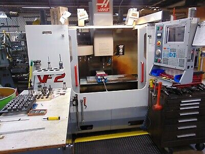 Haas Vf2b Cnc Vertical Machining Center Prep And Load Included