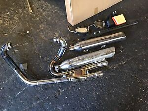 Stock Victory Motorcycle Pipes