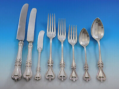 Silver Thread by Hingelberg Sterling Silver Salad Fork 4-tine 6 58