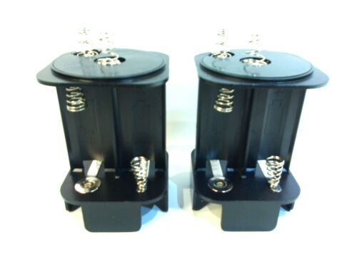 Lot of ( 2 ) 6 VOLT LANTERN BATTERY 6V ADAPTER TO 4 D CELL