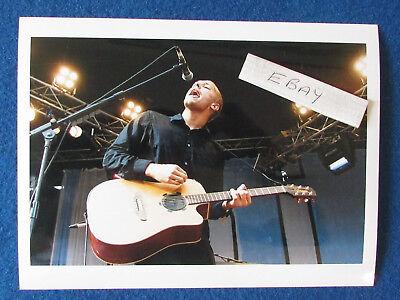 """Original Press Photo - 8""""x6"""" - Coldplay - Chris Martin - 2001 - A"""