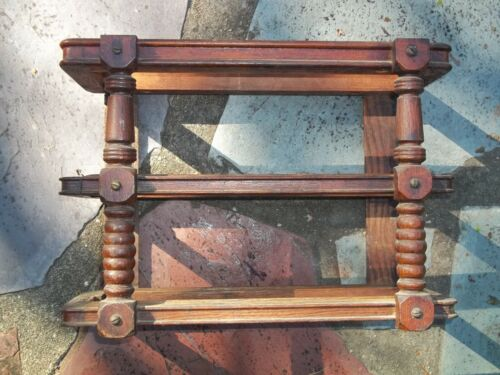 Early Singer Treadle Sewing Machine Drawer Frame Right Side Spindle
