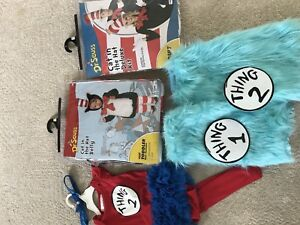 Halloween costume for family! Cat in the Hat & Thing 1 & 2