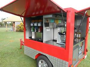 Coffee & slushie trailer. Unique setup with 2 top sellers Mackay Mackay City Preview
