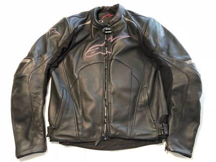 Alpinestars Leather Bike Jacket