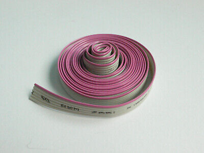 6 Conductor Flat Ribbon Cable 0.05 Pitch 5 Feet Length