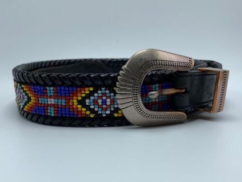 Vintage L.L. Bean Beaded Belt