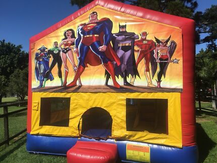 Superhero Jumping castle for hire
