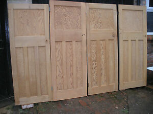 Glen woodjob popular interior doors for sale ebay details about reclaimed 1 over 3 panel internal interior 1930s doors planetlyrics Image collections