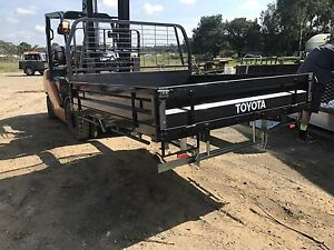 Toyota genuine dualcab steel tray suit landcruiser 79 Leppington Camden Area Preview