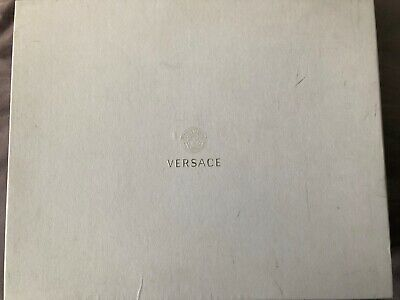 Versace men's hi top sneakers size uk 7