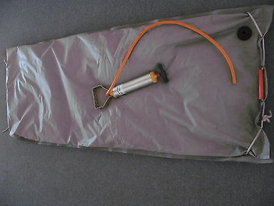 Erste Hilfe  Vakuum Matratze aus BW Bestand