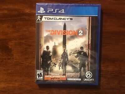 The Division 2 (Sony PlayStation 4, PS4, 2019) BRAND NEW FACTORY SEALED!!!!!!!!!