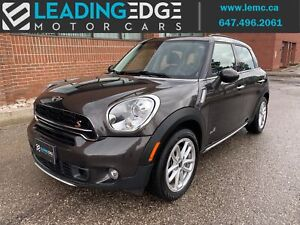2016 Mini Countryman Cooper S Leather, Sunroof, Heated Seats