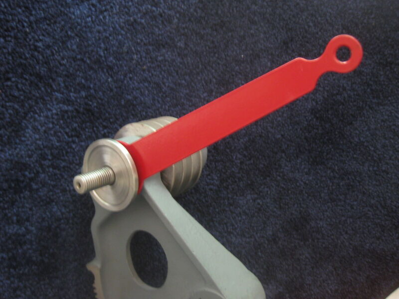 NEW ITEM - THIN,  HEAVY DUTY WRENCH FOR BEHIND THE ARBOR FLANGE - DELTA UNISAW