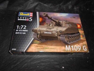 REVELL 03305 1/72 M109 G SELF-PROPELLED GUN PLASTIC MODEL KIT