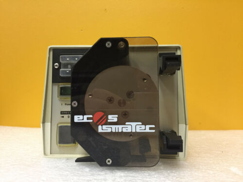 Ismatec ECOS380, 230 VAC, 50 Hz, 120 W, Peristaltic Pump + Head Assembly