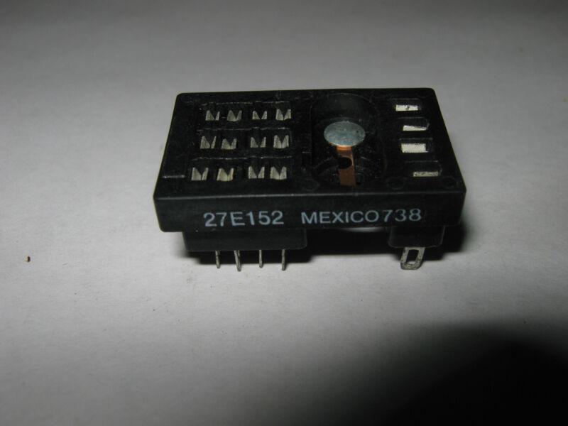 Potter & Brumfield Relay Socket, 27E152, New