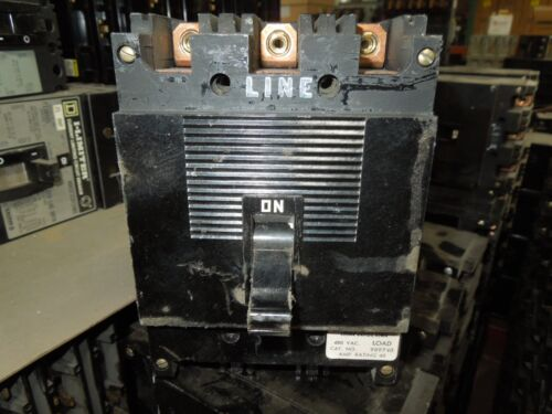 Square D Type Ml-1 989740 40a 3p 480vac Circuit Breaker Used