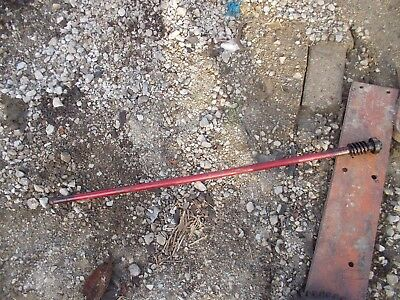 Farmall H Early Sh Tractor Original Ih Steering Shaft W Worm Gear