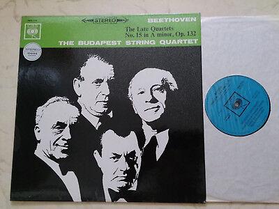 BEETHOVEN The Late Quartets No.15 A minor,Op.132 BUDAPEST STRING QUARTET