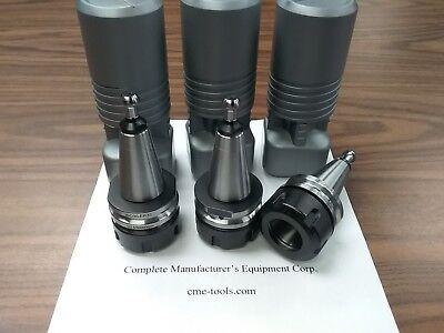 3pcs Iso30 Er32 Balanced Collet Chucks G2.530000rpm 50mm Projec. Iso30-er32-50