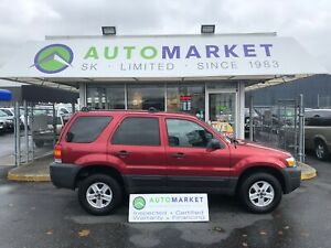 2007 Ford Escape XLS 2WD NEW TRANSMISSION! FINANCE IT!