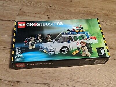 LEGO IDEAS GHOSTBUSTERS ECTO-1 21108 NIB NEW SEALED FREE SHIPPING