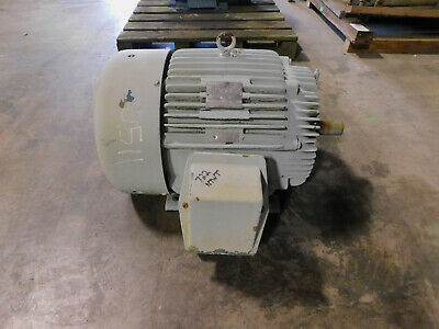 Marathon Electric Motor 50 Hp 3545 Rpm 326ts Frame 460 Volts Hi Efficiency