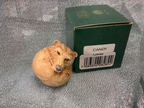 Harmony Kingdom Roly Poly CANDY Bear Box Figurine MINT IN BOX ADAM BINDER UK MIB