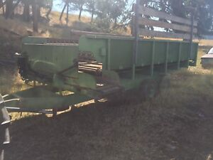 Silage wagon, plow, tractor fenders