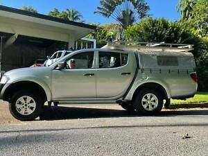 2009 Mitsubishi Triton GL-R (4x4) 5 Sp Manual Double Cab Utility