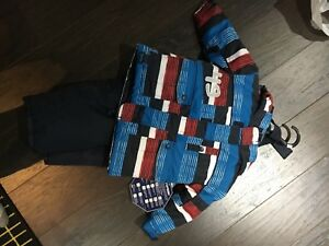 2t winter snowsuit (jacket never worn)