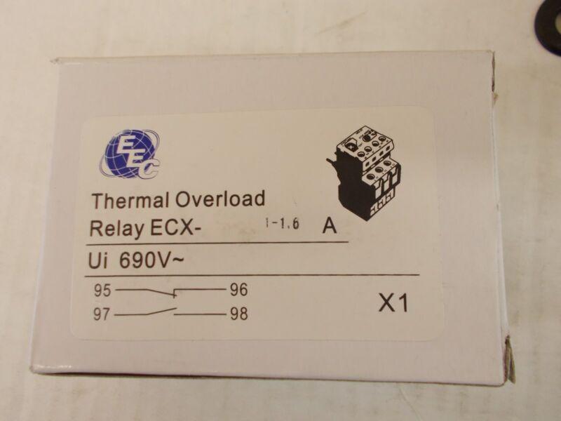 EEC ECX1-1.6A OVERLOAD RELAY  AEG