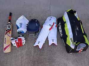 Cricket gear Youth size Thagoona Ipswich City Preview