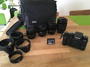 Fuji X-T2 plus lenses and accessories Greensborough Banyule Area Preview