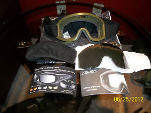 OAKLEY-ESS-LAND-OPS-MILITARY-GOGGLES-BALLISTIC-SHOOTING-ATV-PAINTBALL-Z87-NEW